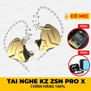 Tai nghe KZ ZSN Pro ZSN Pro X phiên bản mới nâng cấp - Có micro thumbnail
