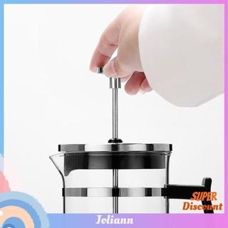 joliann1. Stainless Steel 304 Pressure Pot Coffee Maker Household Teapot Tea Brewer