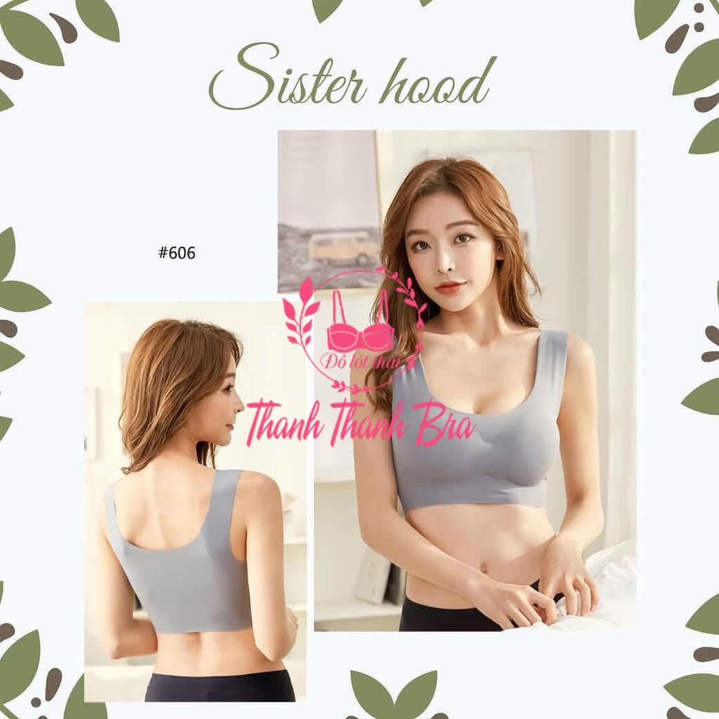 Áo Bra chất su đúc cao cấp Thái Lan Sister Hood 606, Áo tập Gym, Yoga