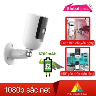 [Mã 208ELSALE hoàn 7% đơn 300K] Camera ip tích điện ngoài trời QCT 1080p quốc tế thumbnail
