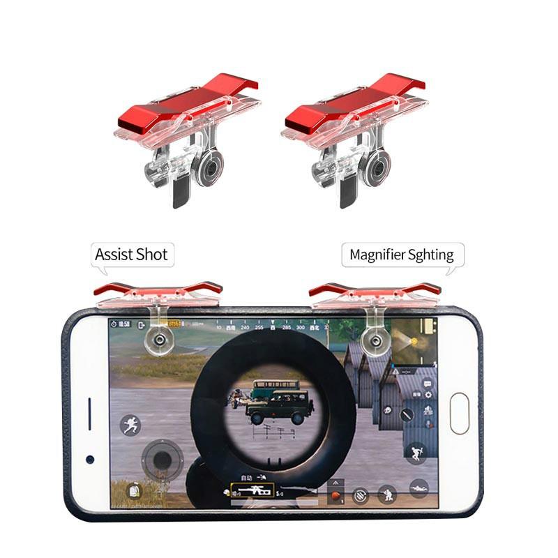 Tay cầm điều khiển hỗ trợ chơi game PUBG cho điện thoại thông