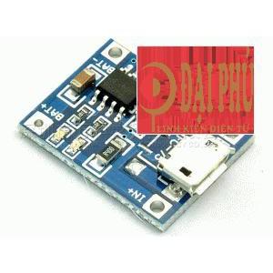 Module sạc pin lithium TP4056 1A cổng micro usb - 3093457 , 458450215 , 322_458450215 , 7000 , Module-sac-pin-lithium-TP4056-1A-cong-micro-usb-322_458450215 , shopee.vn , Module sạc pin lithium TP4056 1A cổng micro usb