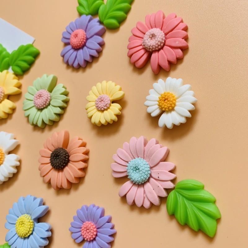 Nam châm hít trang trí tủ lạnh hình ảnh hoa cúc Daisy