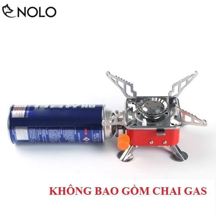Bếp Gas Du Lịch Dã Ngoại Mini Xếp Gọn Có Túi