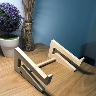 Kệ laptop gỗ sang trọng, chống đau mỏi lưng