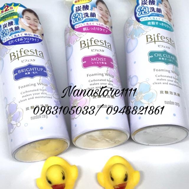 Sữa rửa mặt Bifesta đủ các dòng Nhật Bản