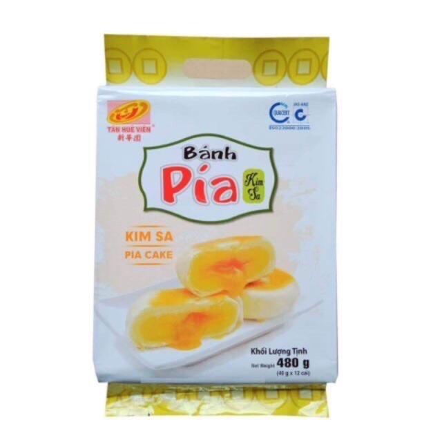 Bánh Pía Kim Sa Trứng Muối tan chảy chính gốc Sóc Trăng Date mới