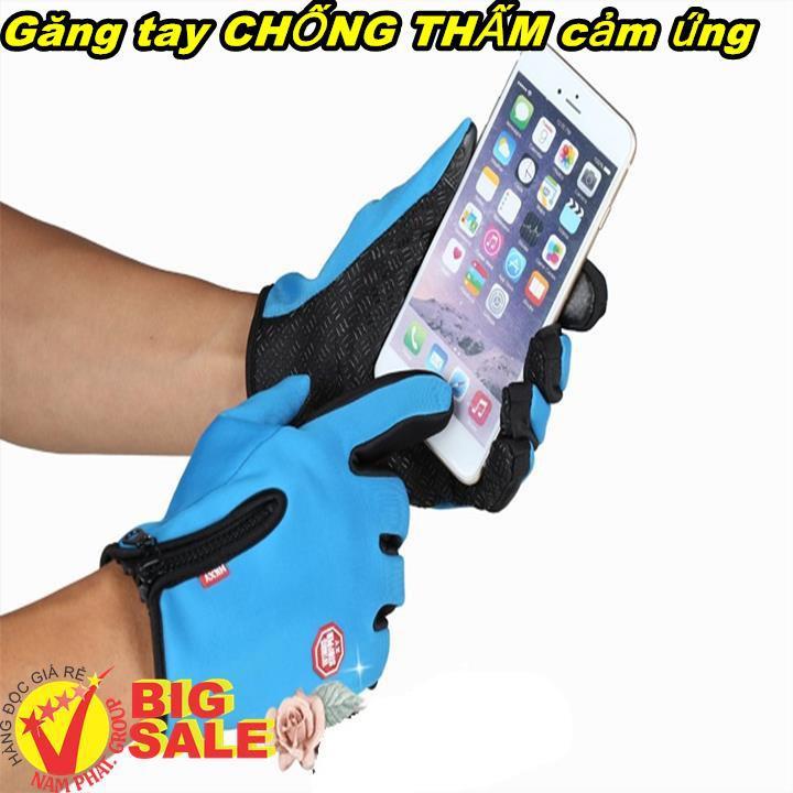 Găng tay chống thấm nước cảm ứng Tất/ găng tay
