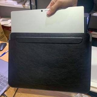[Ảnh Thật] Bao da Túi Đựng cho Macbook 13″,Surface Pro 4- 5- 6 -7- X chống xước, chống sốc màu đen / xám / nâu(da bò)