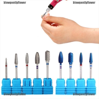 Blowgentlyflower 1pc Nail Drill Bit Nail Files Electric Rotary Mills Nail Gel Grinding head Tools BGF