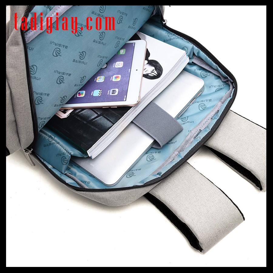 Balo Laptop Thời Trang Nam Đẹp Cao Cấp Balo Máy Tính Nam Nhiều Ngăn Đơn Giản - TADIGIAY.COM