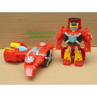 Robot Biến Hình Máy Bay Màu Đỏ 1 Bước Cho Bé (Transformers Hasbro - Mỹ) thumbnail