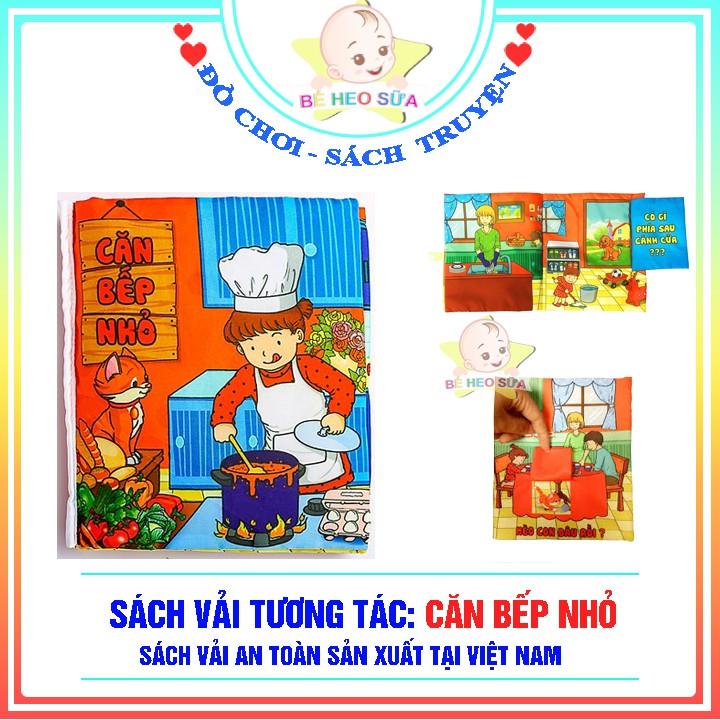 Sách vải Căn bếp nhỏ – Sách vải tương tác pipo