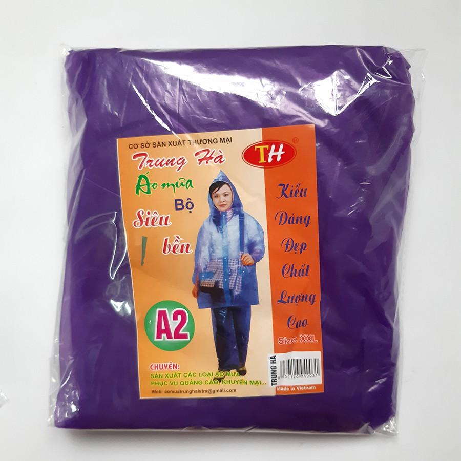 [Ảnh thật 100%] Bộ quần áo mưa NILON tiện dụng - Loại đẹp dày dặn có thể dùng nhiều lần