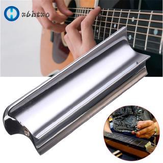Metal Guitar Slide Steel Solid Stainless Tone Bar Hawaiian Slider for Hawaiian Electric Guitar