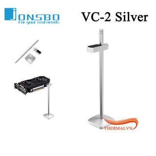 Yêu Thích+[Mã ELFLASH1 hoàn 10K xu đơn 20K] Giá đỡ VGA Jonsbo VC-2 Silver - Giúp Card màn hình chống cong vênh