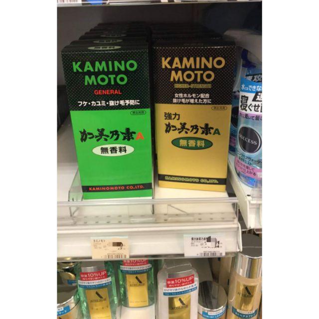[Order Nhật] Thuốc trị rụng tóc, hói Kaminomoto 200ml