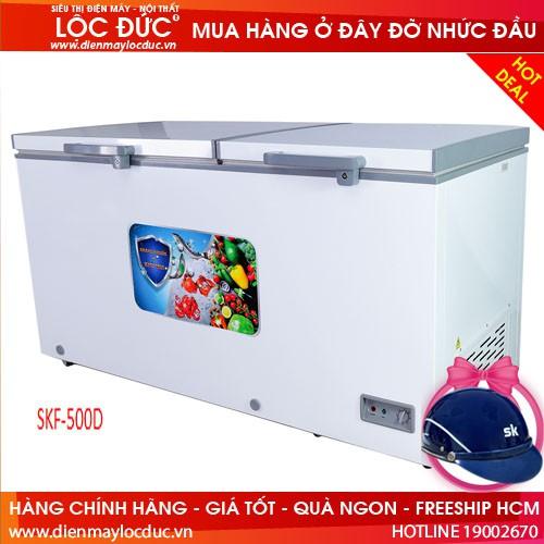TỦ ĐÔNG MÁT SUMIKURA 500 LÍT SKF-500D ĐỒNG (R600A)