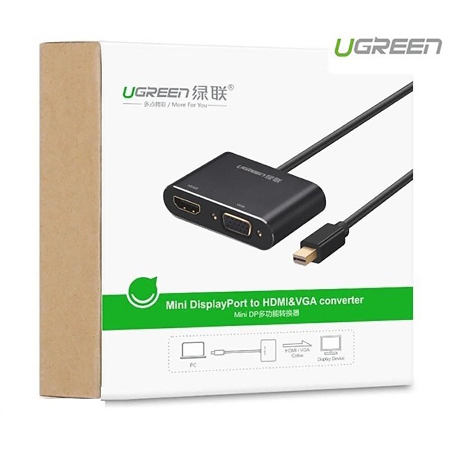 Cáp chuyển đổi Mini DisplayPort sang HDMI - VGA Ugreen 20422 chính hãng - HapuStore