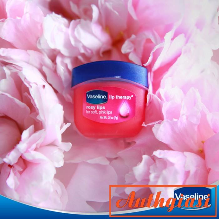 Dưỡng môi Vaseline mềm mịn chống khô nứt và thâm môi dạng hũ và thỏi