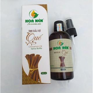 Tinh dầu quế nguyên chất/tinh dầu xịt quế khử mùi hôi giày, mùi hôi phòng, xua đuổi côn trùng tại Bình Dương