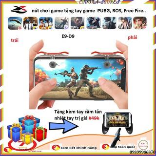 [ Chỉ Hôm Nay ] Nút chơi game E9 - phụ kiện chơi game PUBG, ROS, Free Fire.. tặng kèm tay game thumbnail