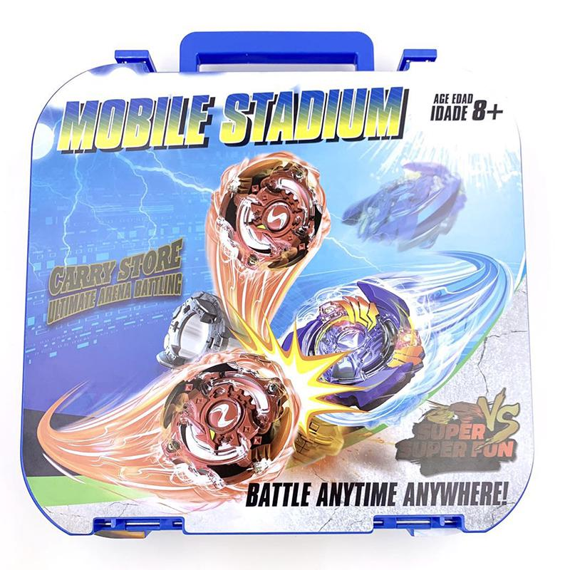 Portable High Quality Beyblade Stadium Beystadium Combat Arena Battle Top Plate Kids Toy Gift
