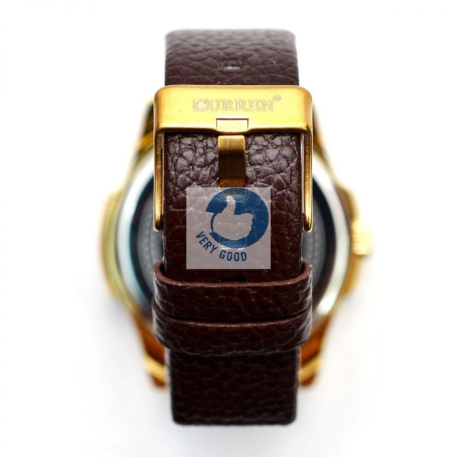Đồng hồ nam CURREN có lịch dây da sần đồng hồ nam