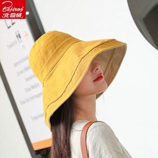 Mũ Bucket Che Nắng Vành Tròn Thời Trang Xuân Hè Mới Cho Nữ
