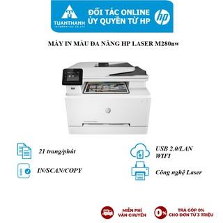 Máy in đa chức năng HP Color LaserJet Pro M280nw_1Y WTY_T6B80A