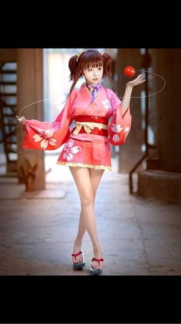Full Mumei ver Yukata cosplay