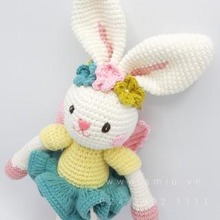 Thỏ Thiên Thần – Thú len nhồi bông cao cấp amiu.vn