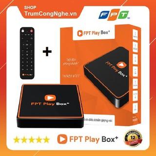 FPT Play Box+ 2020 (Model 550) Phiên Bản Android TV 10 RAM 2GB - Tặng Điều Khiển Giọng Nói - Phân Phối Chính Hãng FPT
