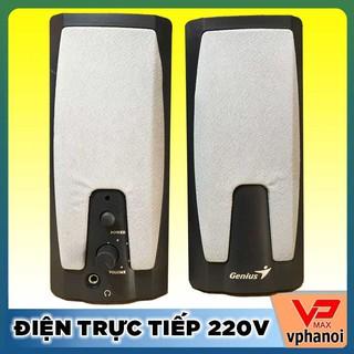 Thanh lý bộ Loa Genius 2.0 LS1500 điện 220V mới 99% thumbnail