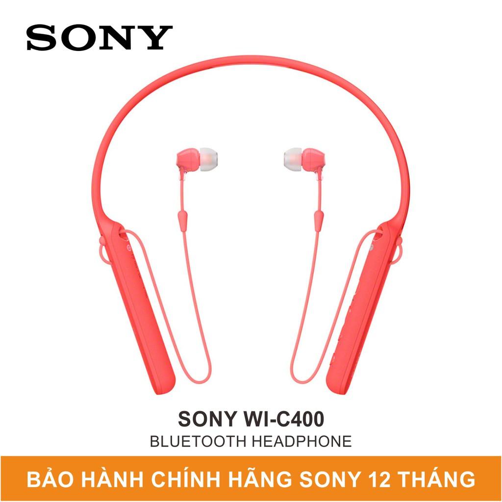 Tai Nghe Bluetooth Không Dây Sony WI-C400 - Hàng Chính Hãng Sony Việt Nam - Mới 100%