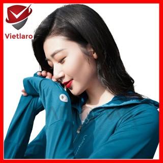 Áo chống nắng, áo khoác chống nắng nữ kháng khuẩn khử mùi thơm mát Vietlaro