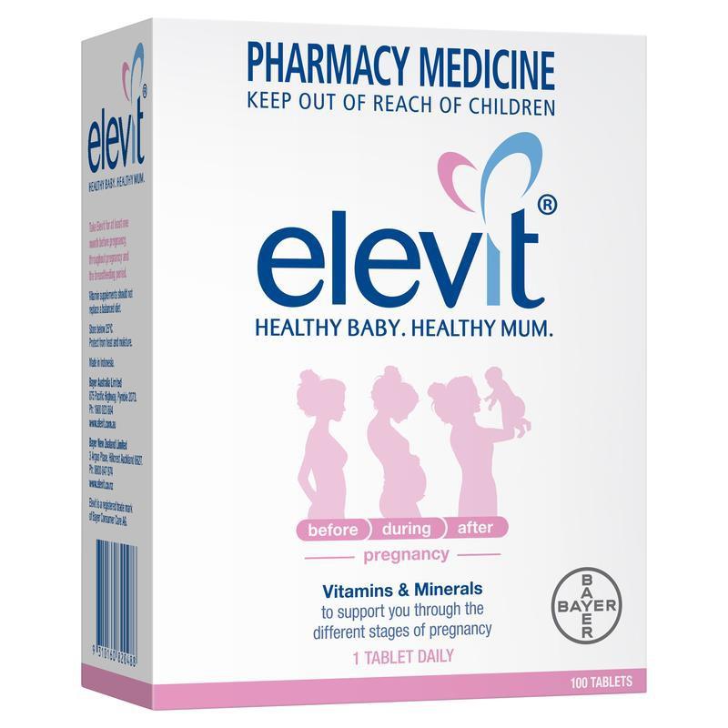 Viên uống Elevit Pharmacy Medicine vitamin 100v - 3212809 , 634883496 , 322_634883496 , 1150000 , Vien-uong-Elevit-Pharmacy-Medicine-vitamin-100v-322_634883496 , shopee.vn , Viên uống Elevit Pharmacy Medicine vitamin 100v