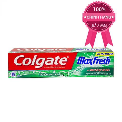 Kem đánh răng Colgate Max Fresh tinh thể mát lạnh 200g