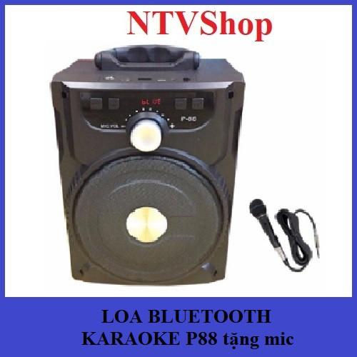 (Tặng mic) LOA BLUETOOTH P88/P89 KARAOKE MINI tặng mic hát KARAOKE - 3003130 , 456018499 , 322_456018499 , 450000 , Tang-mic-LOA-BLUETOOTH-P88-P89-KARAOKE-MINI-tang-mic-hat-KARAOKE-322_456018499 , shopee.vn , (Tặng mic) LOA BLUETOOTH P88/P89 KARAOKE MINI tặng mic hát KARAOKE