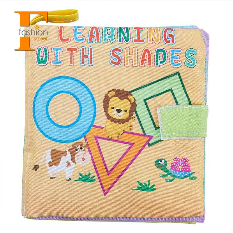 Sách vải nhồi bông mềm mịn cho bé 0-36 tháng tuổi