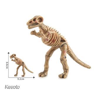 12Pcs Plastic Dinosaur Skeleton Simulation Dinosaurs Model Figures Toys