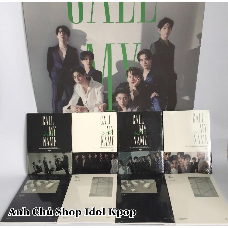 [ Có poster +tube ] Album Got7 mini CALL MY NAME 10th (K10)