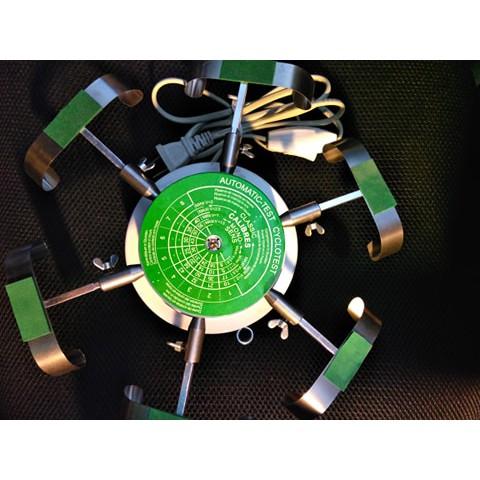 [DỤNG CỤ SỬA CHỮA ĐỒNG HỒ] Bàn xoay điện 6 chấu lên cót đồng hồ cơ khí