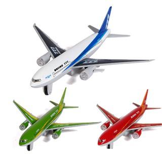 Máy bay mô hình Boeing 777- đỏ