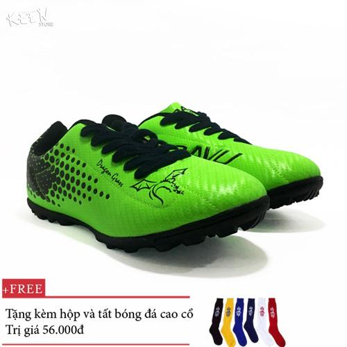 Giày đá bóng Coavu Dragon trẻ em xanh lá - nhà phân phối chính từ hãng