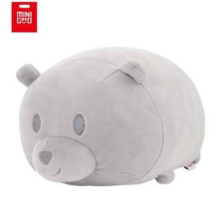 Gấu bông mặt gấu – Xám Minigood