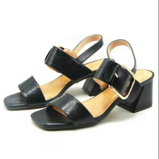 Sandal gót vuông 7cm (oder)