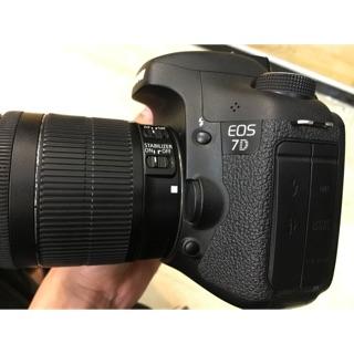 Máy ảnh Canon 7D kèm kis 18-55mm STM