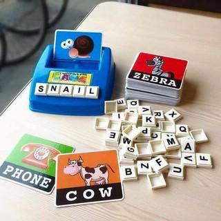 BỘ flashcard tiếng anh, đồ chơi trẻ em, đồ chơi thẻ thông minh