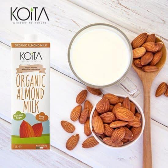 Sữa hạnh nhân hữu cơ Koita 1L